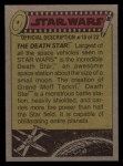 1977 Topps Star Wars #156   R2-D2 is lifted aboard Back Thumbnail