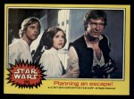 1977 Topps Star Wars #151   Planning an escape Front Thumbnail