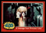 1977 Topps Star Wars #106   A message from Princess Leia Front Thumbnail