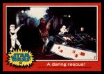1977 Topps Star Wars #82   A daring rescue Front Thumbnail