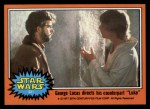 1977 Topps Star Wars #321   George Lucas directs counterpart Luke Front Thumbnail
