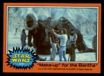 1977 Topps Star Wars #318   Make-up for the Bantha Front Thumbnail