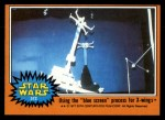 1977 Topps Star Wars #312   Using the blue screen process for X-wings Front Thumbnail