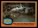 1977 Topps Star Wars #295   Han and the Rebel Pilots Front Thumbnail