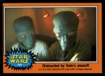 1977 Topps Star Wars #284   Distracted by Solo's assault Front Thumbnail