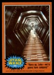 1977 Topps Star Wars #282   Hurry upwe're gonna have company Front Thumbnail