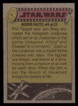 1977 Topps Star Wars #280   Remb.LukeThe Force will be w/ you Back Thumbnail