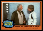 1977 Topps Star Wars #280   Remb.LukeThe Force will be w/ you Front Thumbnail