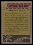 1977 Topps Star Wars #277   Bizarre inhabitants of the cantina! Back Thumbnail