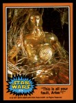 1977 Topps Star Wars #273   This is all your fault Artoo! Front Thumbnail