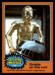 1977 Topps Star Wars #269   Droids on the run Front Thumbnail