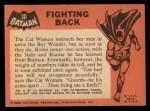 1966 Topps Batman Black Bat #30 BLK  Fighting Back Back Thumbnail