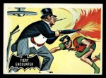 1966 Topps Batman Black Bat #19 BLK  Fiery Encounter Front Thumbnail
