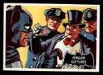1966 Topps Batman Black Bat #24 BLK  Penguin Captured Front Thumbnail