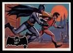 1966 Topps Batman Black Bat #28 BLK  Let's Go Front Thumbnail
