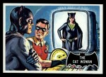 1966 Topps Batman Black Bat #25 BLK  The Cat Woman Front Thumbnail