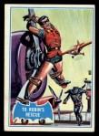 1966 Topps Batman Blue Bat Back #11 BLU  To Robin's Rescue Front Thumbnail