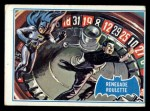1966 Topps Batman Blue Bat Puzzle Back #12 PUZ  Renegade Roulette Front Thumbnail