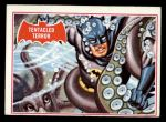 1966 Topps Batman Red Bat #8 RED  Tentacled Terror Front Thumbnail