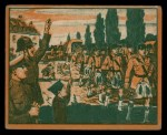 1939 Gum Inc. War News Pictures #78   British Troops Are Welcomed In France Front Thumbnail