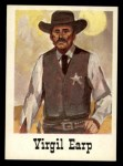 1966 Leaf Good Guys Bad Guys #33  Virgil Earp  Front Thumbnail