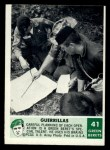 1966 Philadelphia Green Berets #41   Guerrillas Front Thumbnail