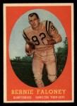 1958 Topps CFL #54  Bernie Faloney  Front Thumbnail