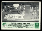 1966 Philadelphia Green Berets #12   Taking Care of Their Own Front Thumbnail