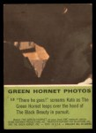 1966 Donruss Green Hornet #13   There he goes Back Thumbnail