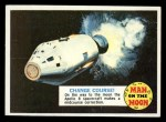 1969 Topps Man on the Moon #50 B  Change Course Front Thumbnail