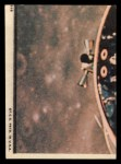 1969 Topps Man on the Moon #51 B James McDivitt / David Scott / Russell Schweickart Hi There Back Thumbnail
