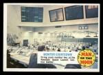 1970 Topps Man on the Moon #46 B  Monitor Countdown Front Thumbnail