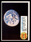 1970 Topps Man on the Moon #85 C  North America Under Clouds Front Thumbnail
