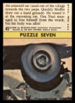 1966 Topps Rat Patrol #45   An Armored Car Raced Out of the Village Back Thumbnail