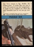1966 Topps Rat Patrol #10   Sgt. Troy Turned to Sgt. Moffitt Back Thumbnail