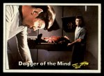 1976 Topps Star Trek #40   Dagger of the Mind Front Thumbnail
