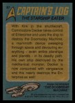 1976 Topps Star Trek #87   The Starship Eater Back Thumbnail
