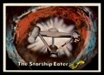 1976 Topps Star Trek #87   The Starship Eater Front Thumbnail
