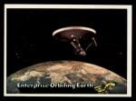 1976 Topps Star Trek #18   Enterprise Orbiting Earth Front Thumbnail