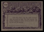 1973 Topps You'll Die Laughing #125   I've heard of close shaves Back Thumbnail