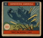 1941 W.S. Corp Defending America #221   Treat Em Rough Tank Front Thumbnail