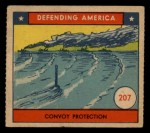 1941 W.S. Corp Defending America #207   Convoy Protection Front Thumbnail
