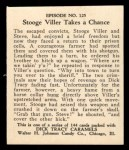 1931 Johnson Candy Dick Tracy R41 #125   Stooge Viller Takes Chance Back Thumbnail
