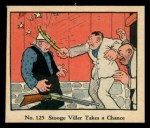 1931 Johnson Candy Dick Tracy R41 #125   Stooge Viller Takes Chance Front Thumbnail