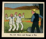 1931 Johnson Candy Dick Tracy R41 #124   Steve and Stooge at Bay Front Thumbnail