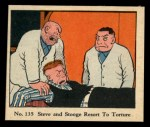 1931 Johnson Candy Dick Tracy R41 #135   Steve and Stooge Resort to Tor Front Thumbnail
