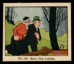 1931 Johnson Candy Dick Tracy R41 #142   Steve Gets Ladylike Front Thumbnail