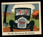 1931 Johnson Candy Dick Tracy R41 #128   The Convicts Plot Revenge Front Thumbnail