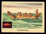 1959 Fleer Indian #48   Sea-going Canoe Front Thumbnail