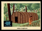 1959 Fleer Indian #30   -  Indian longhouse  Indian Indian longhouse Front Thumbnail